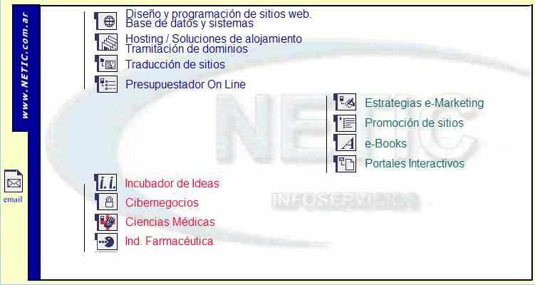 Servicios de Internet Marketing Provistos por Netic Infoservicios